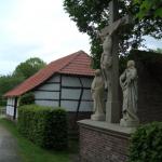 Blick in das Freilichtmuseum Dorenburg