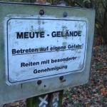 Bitte ohne Hunde wandern in Obrighoven