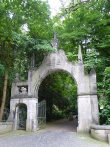 Das Portal von Schloss Landsberg