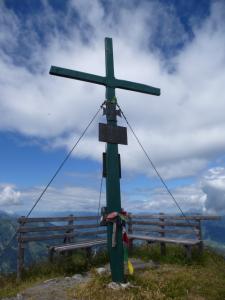 Gipfelkreuz auf dem Bernkogel