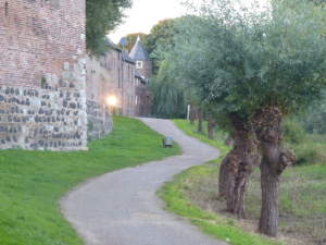 Die Stadtmauer von Zons