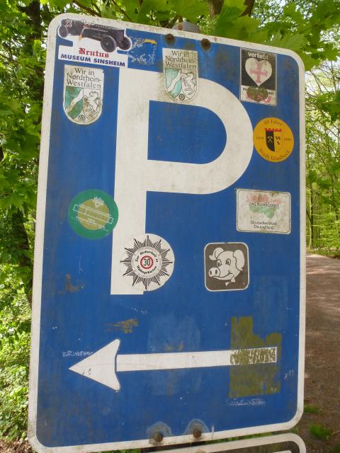 Der Wanderparkplatz