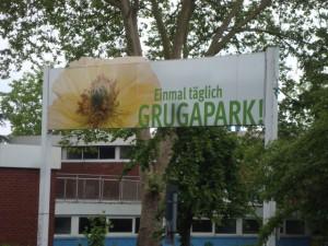 Zugang zum Grugapark