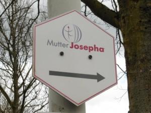 Mutter Josepha Wanderzeichen