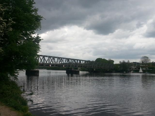 Ehemalige Eisenbahnbrücke Kupferdreh über den Baldeneysee