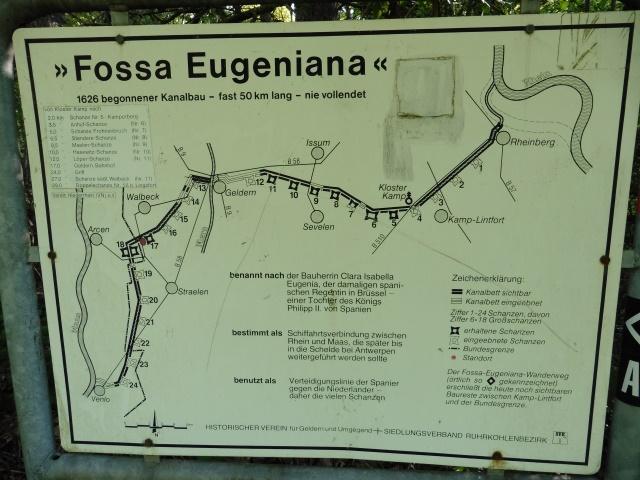 Der Verlauf der Fossa