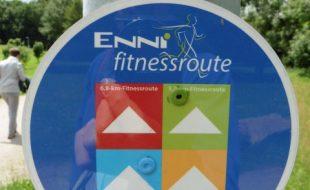 Wegweisend Fitnessroute