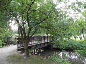 Die Fitnessroute führt durch den Moerser Freizeitpark