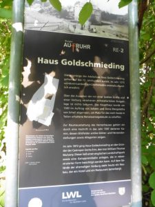 Informatives über Haus Goldschmieding
