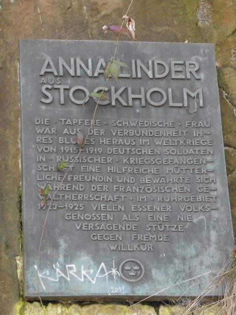 Anna Linder in Bredeney