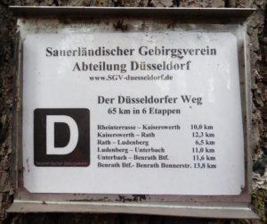 Der D-Weg in Düsseldorf