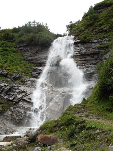 Der zweite Wasserfall im Krumltal
