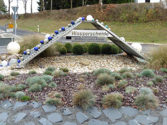An der Wasserscheide in Bad Münstereifel