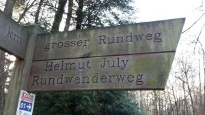 Der Helmut July Rundwanderweg in Bergkamen