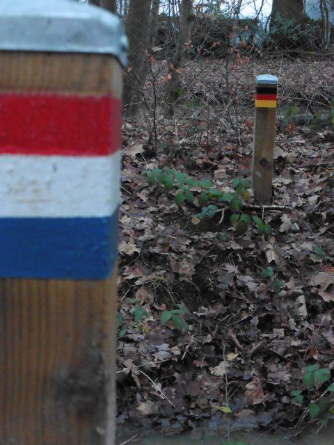 Der Schmugglerpfad in Venlo/Velden und Deutschland/Straelen