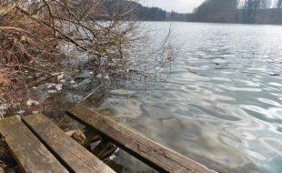 Winterlicher Blick auf den Türlersee