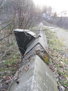 Reste der Talsperre in Wuppertal