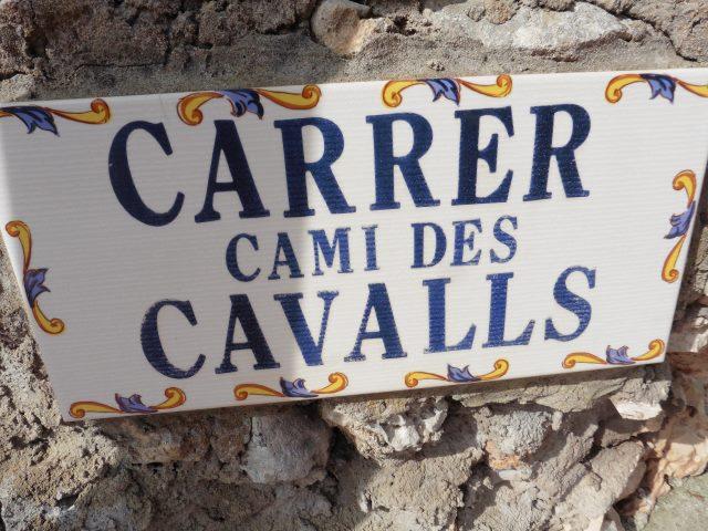 Unterwegs auf dem Cami des Cavalls