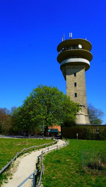 Der Longinusturm auf dem Westerberg