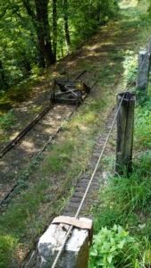 Die Schienen nach Wilhelmstal