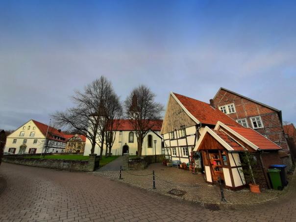 Der historische Ortskern von Kirchwelver