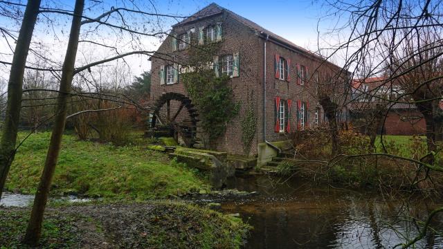 Die namensgebende Leuther Mühle