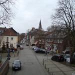 Blick in die Innenstadt von Orsoy