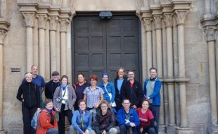 Abteikirche Otterberg beim Bloggerwandern