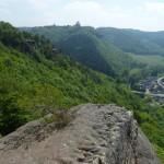 Blick zur Burg Nideggen