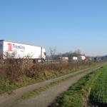 Die A40 in Richtung Duisburg