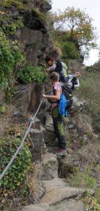 Klettersteig Rabenlay