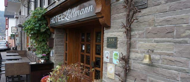 Das Hotel Lellmann Unsere Unterkunft an diesem Wochenende