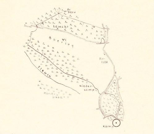 Original Karte Kamp-Lintfort