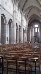 In der Abteikirche zu Otterberg beim Bloggerwandern