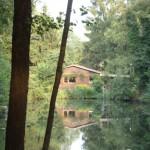 Verstekcte Hütte